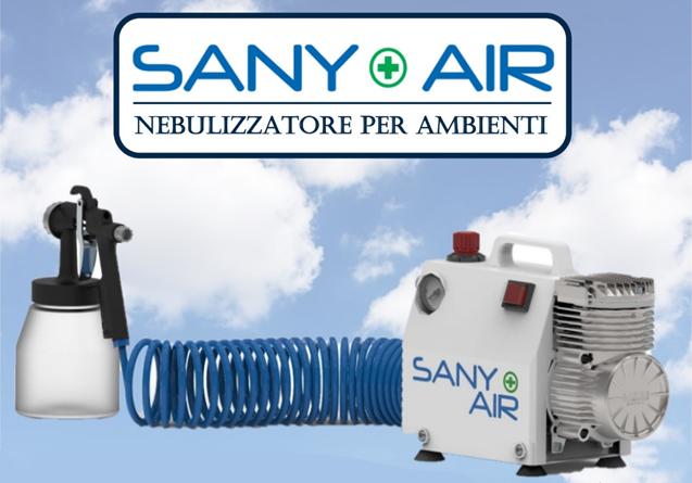 SANY AIR SANIFICATORE PER AMBIENTI
