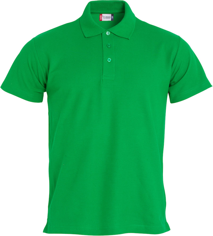 Polo Mezza Manica In Cotone Piquet Basic