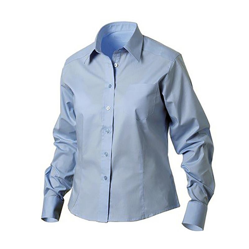 Camicia Oxford Azzurra Donna