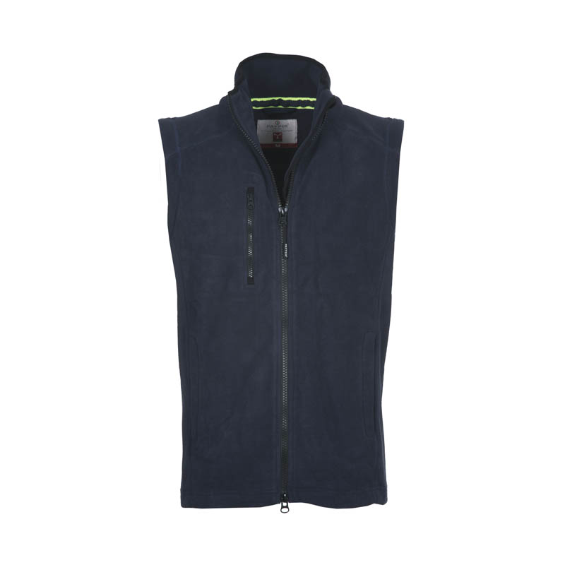 Gilet Uomo In Pile EASY Con Zip Intera