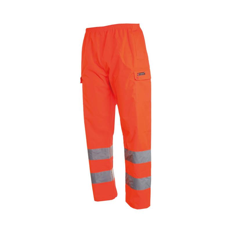 Pantalone HURRICANE PANTS Antipioggia In Alta Visibilità Con Bande 3M