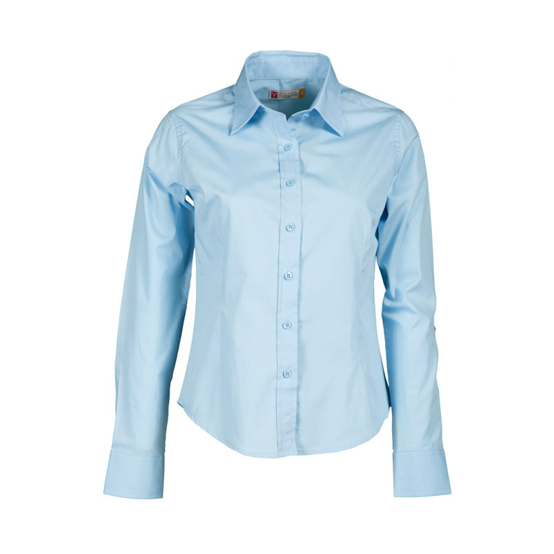 Camicia Donna MANAGER Casual Fit Sfiancata Popeline A Manica Lunga