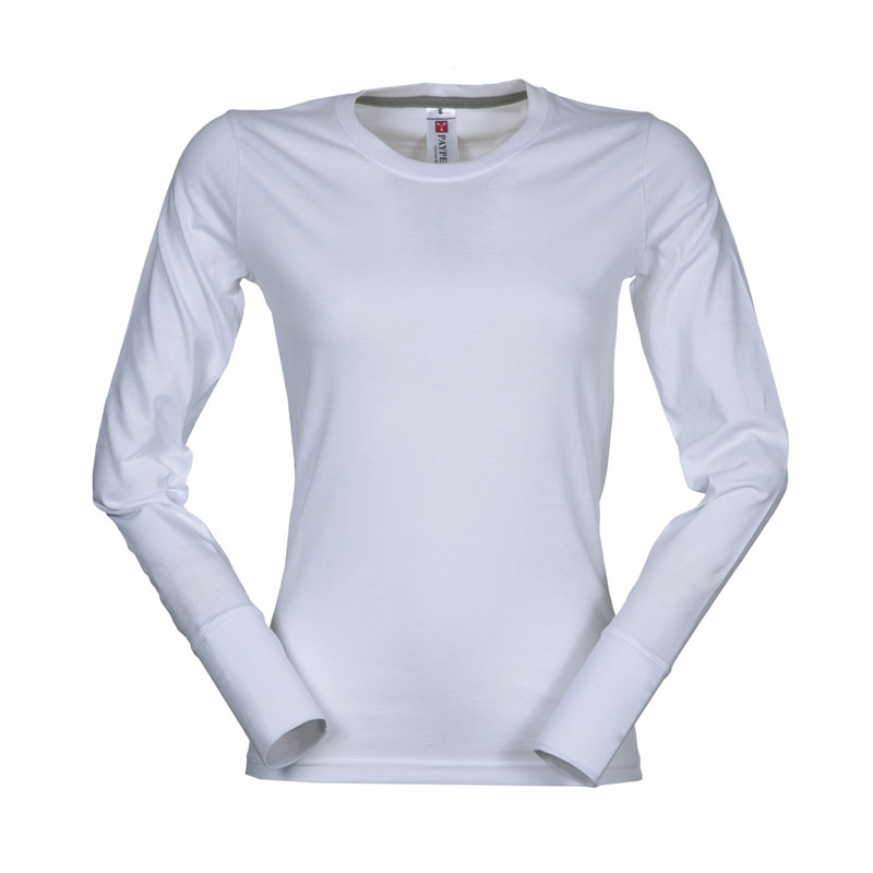 T-shirt Donna PINETA Girocollo Manica Lunga