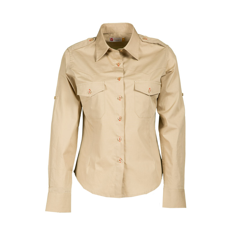 Camicia Donna TROPHY Sfiancata A Manica Lunga